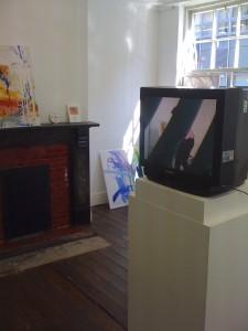 Show of work in Bank Street Arts in Sheffield 2010