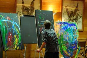 Lupophon painting