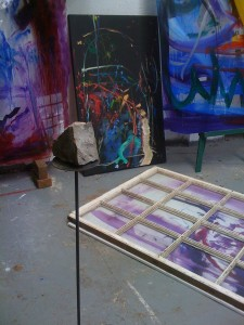 Canvas and Perspex