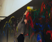 Performance Painting, Modern Art Oxford