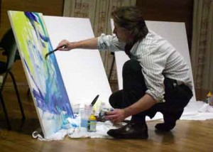 Performance Painting at the Royal Academy of Music