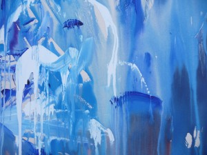 Walls Of Water, Liverpool Met Cathedral Performance Painting