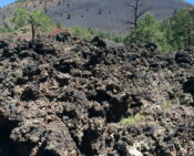 The Incredible Volcanic Landscape of Sunset Crater.