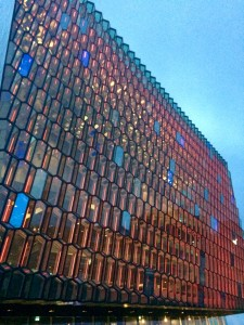Beautiful Harpa Building.