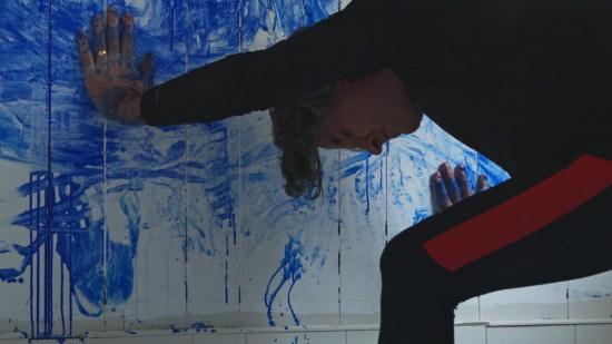 Performance Painting In Iceland