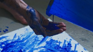 Pouring/Painting Performance