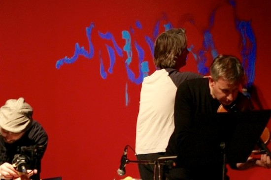Performance Painting at South Bank